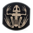 Outdoor CS Tactical Personalized Arm Badge Velcro Patch - Black