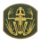 Outdoor CS Tactical Arm Badge Velcro Patch - Light Green + Khaki