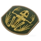 All'aperto CS Tactical Arm Distintivo Velcro Patch - Green Light + Khaki