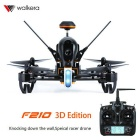 Walkera F210 3D Edition Wall Racing Drone & DEVO 7 - Black + Orange