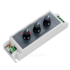 3-Channel LED RGB Strip Dimmer Controller - Grå + Gul