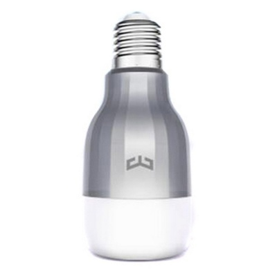 Xiaomi Yeelight LED 9W Colorful Light Intelligent Bulb - White + Grey