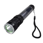 RichFire SF-394 3W USB Solar Neutral White LED Flashlight - Black