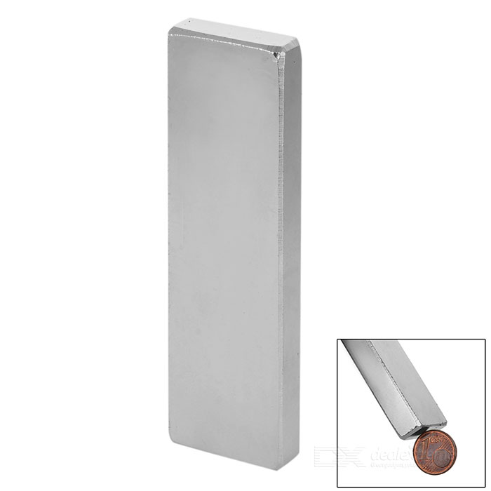 F100 * 30 * 10mm Square NdFeB Magnet - Silver