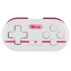 8Bitdo Zero Bluetooth V3.0 Wireless Gamepad - Blanco + Rojo Oscuro
