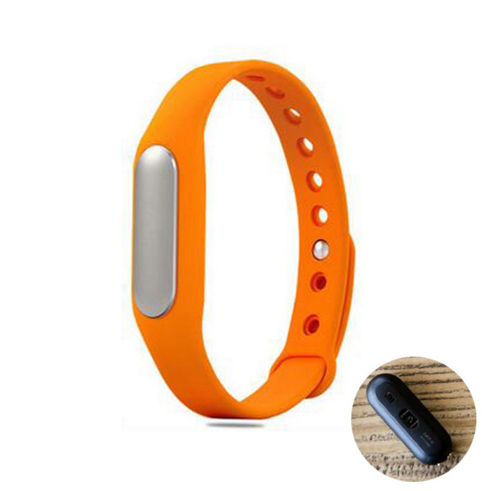 Xiaomi Mi Band 1S Heart Rate Wristband Smart Bracelet - Orange