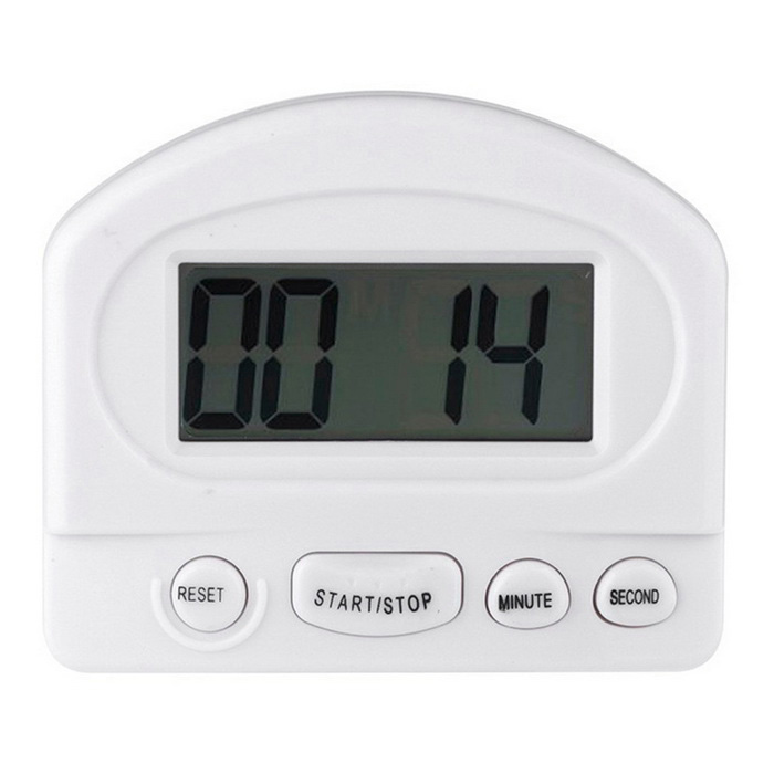 "Magnetic & grampo de montagem Contagem 2.5 ""Digital LCD Down / Up Kitchen Timer"