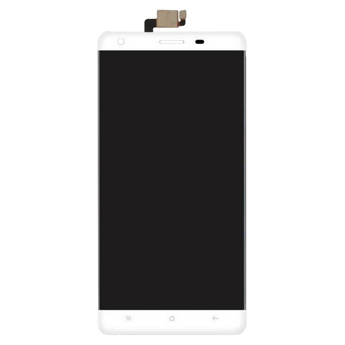 display LCD originale + touch panel per OUKITEL K6000 - bianco