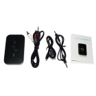 2-in-1 Wireless Bluetooth V2.1 Audio Receiver and Transmitter - Black