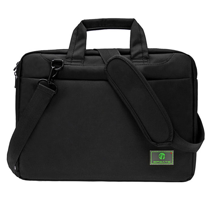 "EPGATE 15.6"" Shockproof AirbagLaptop Bag Single Shoulder Bag - Black"