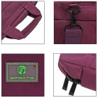 "EPGATE 15.6"" Shockproof Airba Laptop Bag Single Shoulder Bag - Purple"