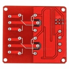 12V 5mA 2-Channel Relay Module With Optocoupler Isolation - Red + Blue