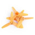 3-Blade Propellers for Parrot Bebop Drone 3.0 - Orange (4PCS)