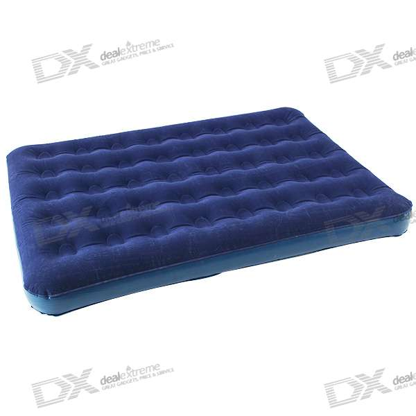 PVC Inflatable Air Bed Mattress Airbed w/ Inflator