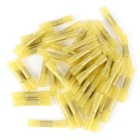 IZTOSS 12-10AWG 4~6mm2 Heat Shrink Butts - Yellow (100PCS)