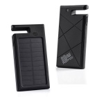 "SUNGZU ""12000mAh"" Dual USB Solar Power Bank w/ Compass - Black"