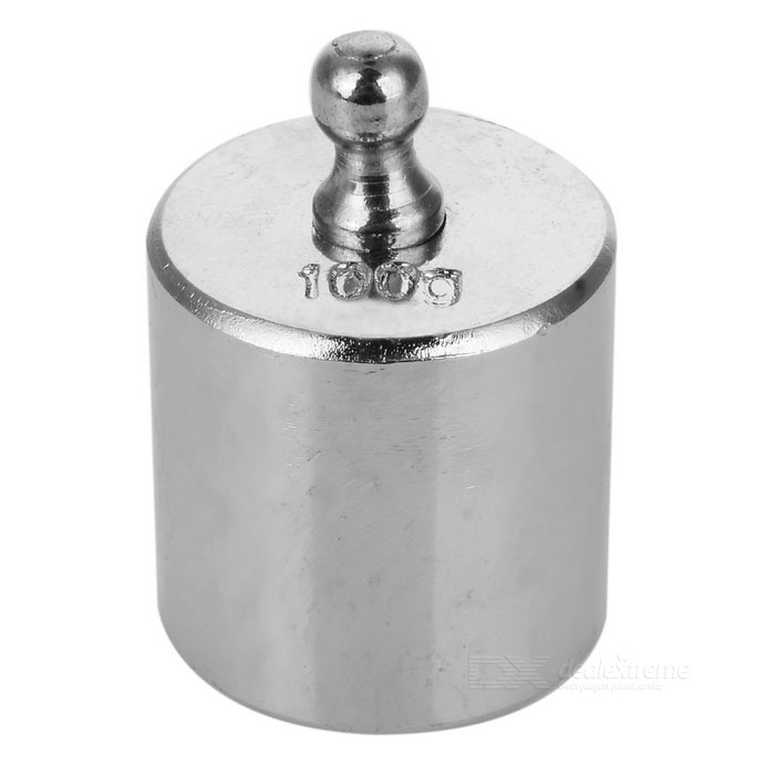 100g Calibration Weight for Digital Scale - Silver