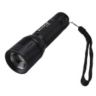RichFire SF-393 5-Mode Cool White Zoom Focusing Flashlight - Black