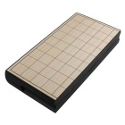 Folding Chessboard Magnetic Pawn Travel Portable Shogi - Black