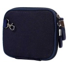 """Multifunctional Canvas Storage Bag for 8"""" Tablet PC + More -Navy Blue"""