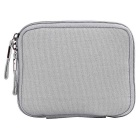 "Multifunctional Canvas Storage Bag for 8"" Tablet PC + More - Grey"
