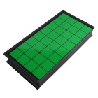Leisure Entertainment Magnetic Pawn Fold Carry Reversi - Green + Black