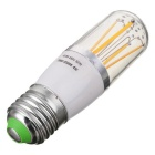 Marsing E27 4W 4-COB Warm White LED Filament Bulb (AC 85~265V)