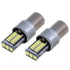 1156 15W Neutral White Light Car luz de marcha atrás (2 PCS, 12 ~ 15V)