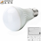 Zhishunjia E27 7W Acousto-optic Sensor Neutral White LED Corridor Lamp