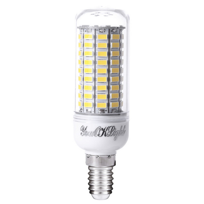 youoklight yk1076 e14 6w warm white light led corn bulb ac 110 120v free shipping dealextreme. Black Bedroom Furniture Sets. Home Design Ideas
