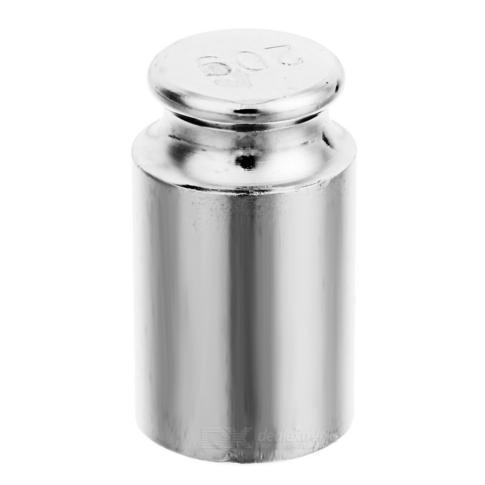 20g Chromium Plating Calibration Weight for Digital Scale - Silver