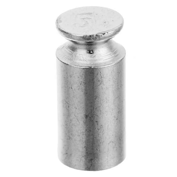 5g Chromium Plating Calibration Weight for Digital Scale - Silver