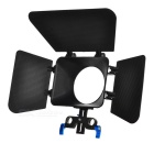 SLR Camera Accessories Kit Light Shield - Black + Blue