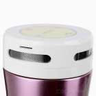 GUB 380 ml Música Bluetooth Botella de aislamiento térmico - Purple + White