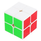 YJ 50mm 2*2*2 Magic Cube Toy - White + Multicolor