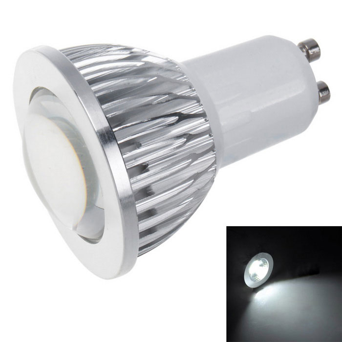 GU10 3W Cold White Light COB Lamp Bulb (85~265V)