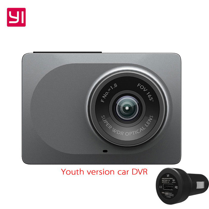 Xiaomi Yi ADA Syouth Version 2.7 1296P Car DVR Recorder - GreyCar DVRs<br>Form  ColorGreyModelYCS.1015.CNQuantity1 DX.PCM.Model.AttributeModel.UnitMaterialabsChipsetOthers,XiaoyiScreen Size2-2.9Other FeaturesWi-Fi,IR Night Vision,Loop RecordVideo Resolution1920 x 1080 DX.PCM.Model.AttributeModel.UnitWide Angle150°-169°Camera Lens1Image SensorCMOSImage Sensor Size2/3 inchesCamera Pixel3.0MPExternal Camera PixelNoWide AngleOthers,167Screen TypeOthers,LEDScreen Size2.7 inchesWhite Balance ModeAutoVideo FormatMP4Decode FormatH.264Video OutputHDMIVideo Resolution1080FHD(1920 x 1080),1080P(1440 x 1080)Video Frame Rate30,60ImagesJPEG,JPGStill Image Resolution3M 2048x1536Audio SystemDual ChannelsMicrophoneYesAuto-Power OnYesIR Night VisionYesG-sensorYesDelay ShutdownYesTime StampYesBuilt-in Memory / RAMNoMax. CapacityOthers,64Storage ExpansionSDAV InterfaceOthers,NOData interfaceMini USBWorking Voltage   5 DX.PCM.Model.AttributeModel.UnitBattery Capacity240 DX.PCM.Model.AttributeModel.UnitWorking Time5 DX.PCM.Model.AttributeModel.UnitMenu LanguageChinese SimplifiedPacking List1*Car DVR1*Car charger1*Stent1*User Manual (Simplified Chinese)<br>