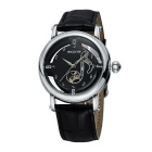 SKONE 261803 Women's Hollow out Dial Mechanical Watch - Black