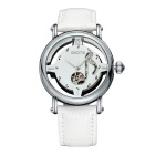 SKONE 261801 Women's Hollow out Dial Mechanical Watch - White