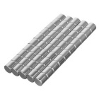 DIY 8*8mm Cylindrical NdFeB Magnet - Silver (50PCS)