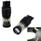 T20 24*3014 SMD LED + 4*LED 80W Neutral White Backup Lights (2PCS)