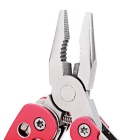 CTSmart Outdoor Multi-tool Mini Pliers - Red + Silver