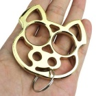 Lovely Pig Style Key Chain Keychain - Golden