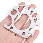 Creative Multifunctional Can Bottle Opener - Silver