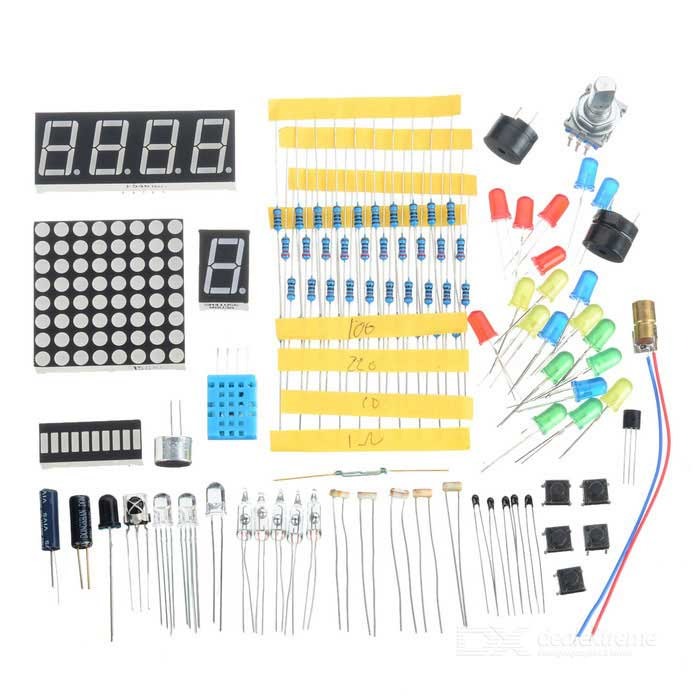 Anturi DIY Kit Arduino / Raspberry Pi - Sininen + musta + Multi-Color