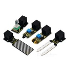 Learning Kit Keyestudio Easy Plug per Arduino Starter - Nero + Giallo