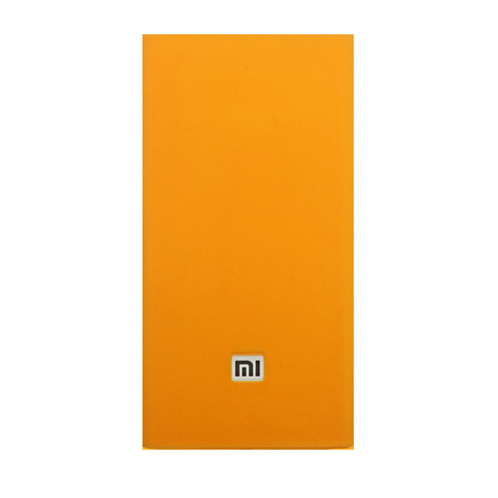 Silicone Protective Cover for Xiaomi 20000mAh Power Bank - Orange