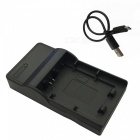 Ismartdigi FW50 Battery + Micro USB Charger for Sony NP-FW50 - Black
