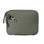 "Multi-Function Canvas Storage Bag for 8"" Tablet PC + More - Army Green"
