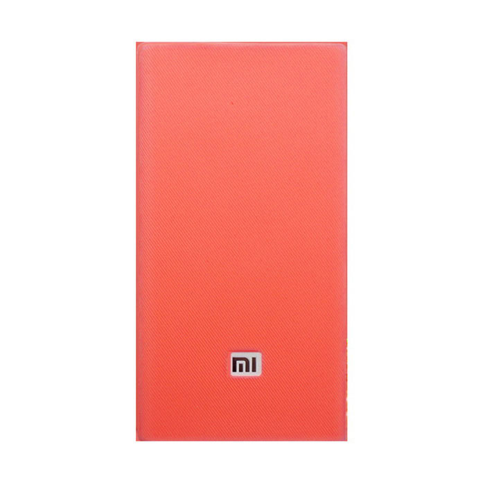 Silicone capa protetora para Xiaomi 20000mAh Power Bank - Red
